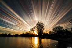 """Photographer Matt Molloy took these pictures using a technique that he calls """"Time Stacking"""""""