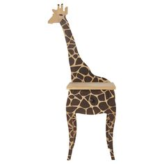 Comodino con giraffa per bambini SAVANE