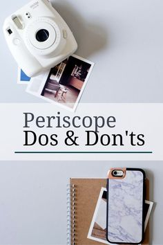 Periscope is the latest social media darling. Are you on this live broadcasting app? Here are the dos and don'ts of Periscope to help you make the most of your next broadcast.