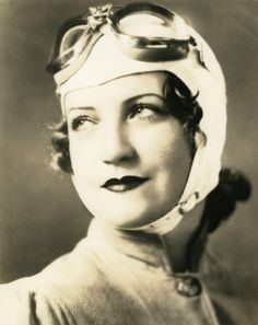 Betty May Furman. Mid-30s  Grems-Doolittle Library Collections Blog: Female aviators in the Godfrey Collection