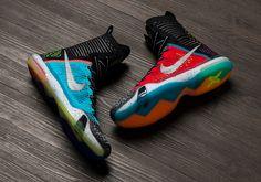 Nike Kobe 10 Elite High 'What The' Multi-color/Reflective Silver Cheap Jordan Shoes, Cheap Shoes, Wwe Outfits, Nike Shoe Store, Kobe 10, Kobe Bryant Pictures, Nike Kobe Bryant, Nike Basketball Shoes, Kobe Basketball