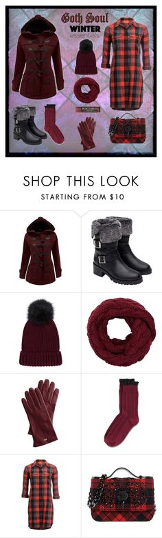 """""""Goth Soul"""" by sammie-style ❤ liked on Polyvore featuring WithChic, Zara, Mark & Graham, Basin and Range, Philipp Plein and Burt's Bees"""