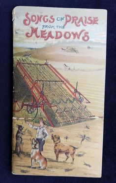 1890's Book Songs Of Praise From Meadows Rock Island Plow Illinois Testimonials