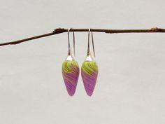 "Designer earring Ohrringe "" Springtime "" Polymer Clay fimo von filigran-Design   auf DaWanda.com"