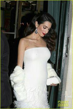 ♡GlamBarbiE♡ Pregnant Amal Clooney