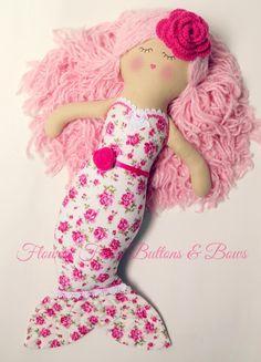Image of underwater love mermaid dolly - sandy