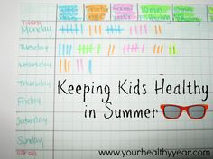 Keep Kids Moving This Summer