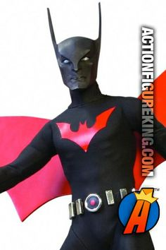 Batman Beyond 1/6th Scale Deluxe Collector Figure. Please visit our site for pricing and availability. #batman #batmanbeyond #actionfigures #actionfigure #dcdirect