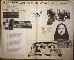 A girl walks home alone at night (from my movie journal)