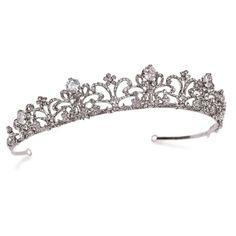 Vintage style wedding tiara - buy in the UK on-line at ayedo.co.uk