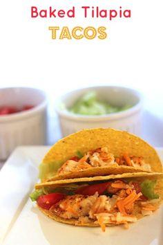 Baked Tilapia Tacos
