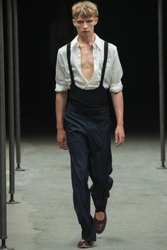 Dries Van Noten Spring 2015 Menswear Fashion Show: Complete Collection - Style.com