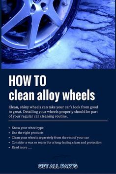 If you learn how to clean alloy wheels properly, you'll go a long way to a better-looking car or truck with longer-lasting wheel finishes. Read our concise wheel-cleaning guide for all the info you'll need.