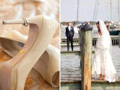 @Victoria Clausen Florals http://baysidebride.com/2014/04/taupe-blue-annapolis-wedding-renee-michelle/