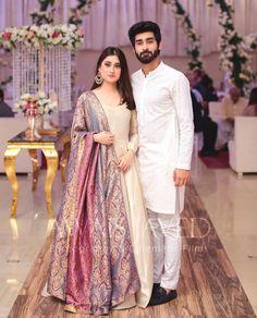 Look so gorgeous 😍😍 . Pakistani Party Wear Dresses, Shadi Dresses, Pakistani Wedding Outfits, Indian Gowns Dresses, Pakistani Dress Design, Party Dresses, Fancy Wedding Dresses, Short Bridesmaid Dresses, 20s Wedding