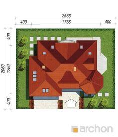 Projekt domu Dom pod juką 2 - ARCHON+ Modern House Design, House Floor Plans, Flooring, Modern, Home Plants, Wood Flooring, Modern Home Design, Floor Plans, House Plans