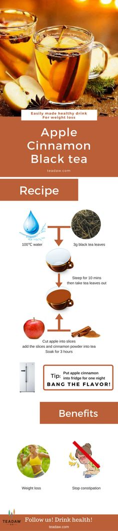 Recipe about Easily Making Apple Cinnamon Tea #Tea #Specialdrink