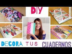 5 Ideas para decorar tus cuadernos - Mayra Alejandra - YouTube