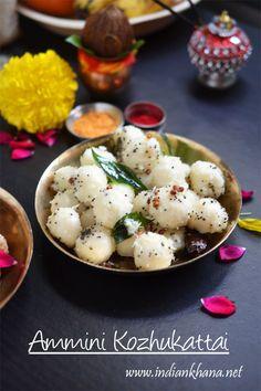 Ammini Kozhukattai or mani kozhukattai, is vegan, healthy, easy, quick Naivedyam for #GaneshChaturthi