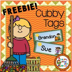 Do you need EDITABLE back to school name tags for your tables, cubby or bins?…