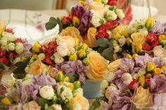 flores em tons paste