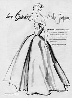 Henri Bendel / Adele Simpson 1956