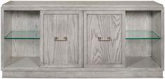 "Vanguard Furniture - Our Products - W720SC-DG Hanson Storage Console 75""W x 18""D x 34""H credenza cabinet media"