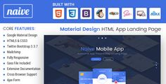 Naive - Material Design Responsive HTML App Landing Page  -  https://themekeeper.com/item/site-templates/naive-material-design-responsive-html-app-landing-page