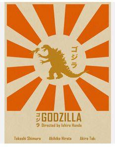 Godzilla poster by Joseph Chiang