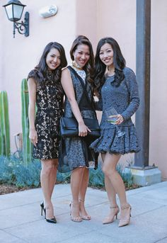 ExtraPetite.com - San Diego: Wedding at Stone Brewery - Three most fave bloggers in a pic <3