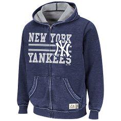 New York Yankees Proven Winner Full-Zip Hooded Sweatshirt by Majestic Athletic - MLB.com Shop