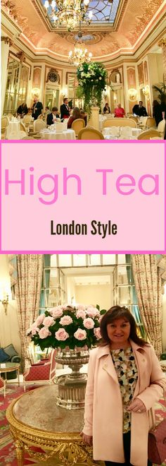 High Tea. Everything about Tea at the Ritz. Go to my travel blog for more photos and experience