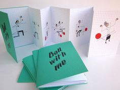BALL WITH ME minibook - 7 Euro