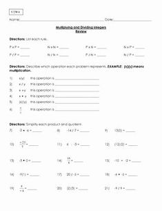 √ Multiplying and Dividing Integers Worksheet Grade 2 . 5 Multiplying and Dividing Integers Worksheet Grade Scavenger Hunt Multiply & Divide Integers Multiplication Of Integers, Multiplying And Dividing Integers, Angles Worksheet, Integers Worksheet, 1st Grade Worksheets, Kindergarten Worksheets, Reading Response, Reading Skills, Financial Stress