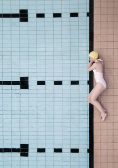 The Aussie summer appropriate series 'Poolside' by Scottish photographer Soo Burnell captures the architecture of historic swimming pools. Pastel Colour Palette, Muted Colors, Unique Architecture, Historical Architecture, Glasgow, Victoria Baths Manchester, Diving Board, Photography Series, Swim Caps