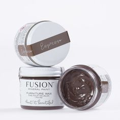 Fusion Furniture Wax - Espresso — My Painted Door Stripping Furniture, Furniture Wax, Painted Furniture, Alphabet, Remove Wax, Homestead House, Mineral Paint, Milk Paint, Weathered Wood