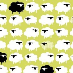 Bah Bah Black SheepFree RangeMonalunaCertified by FancifulFabrics, $15.00