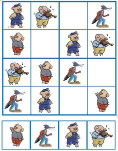 Puzzle Club, Three Little Pigs Story, Social Emotional Activities, Famous Fairies, Sequencing Cards, Big Bad Wolf, Preschool Worksheets, Stories For Kids, Nursery Rhymes