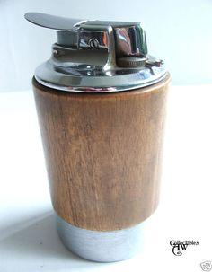 vintage ronson norseman cigar lighter.