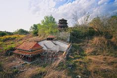 Splendid China - a theme park in Kissimmee, FL - its final days before demolition.