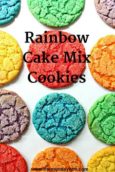 Rainbow Cake Mix Coo