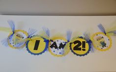 Hey, I found this really awesome Etsy listing at http://www.etsy.com/listing/152877826/despicable-me-high-chair-banner