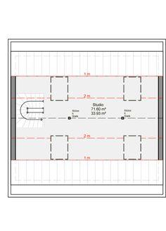 Architekten-Haus Varano | Modernes Fertighaus mit Studio Studio, Line Chart, Planer, Floor Plans, Inspiration, Architecture, Houses, Home, Modern House Plans