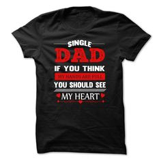 Single DAD - Single DAD ! tee & hoodie If you dont like this T-shirt, please use the Search Bar on the top right corner to find the best one for you. Simply type the keyword and hit Enter! (Dad - Father's Day Tshirts)