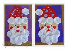 Homemade Christmas Crafts, Christmas Art Projects, Christmas Crafts For Kids To Make, Christmas Activities, Xmas Crafts, Fun Crafts, Toddler Crafts, Preschool Crafts, Noel Christmas