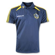 LA Galaxy F50 Polo. Neeeed this.