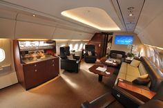 Airbus ACJ318 private jet has the world's largest corporate jet cabin