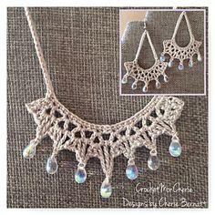 Tanya's Teardrops Jewelry Set by Cherie Bernett on Ravelry