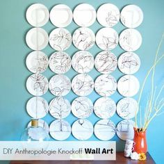 Anthropologie Inspired Wall Art