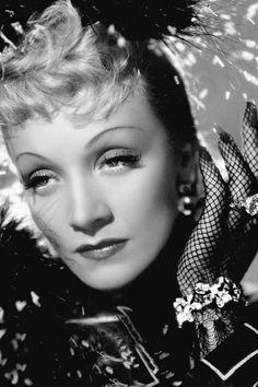 Portrait of Marlene Dietrich
